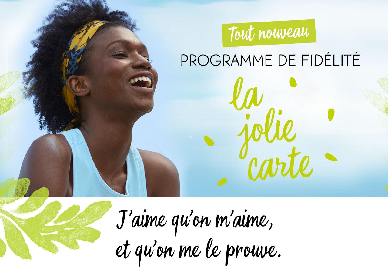 NOUVEAU Programme de Fidélité LaJolieCarte