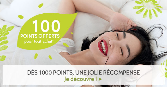 100 Points offerts!