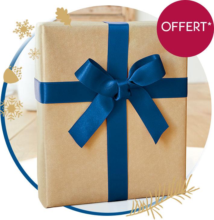 Un cadeau offert*!