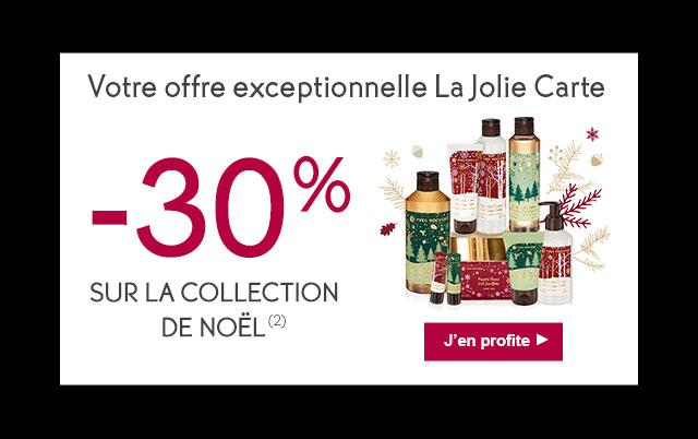 Votre offre exceptionnelle La Jolie Carte: -30% sur la collection de Noël