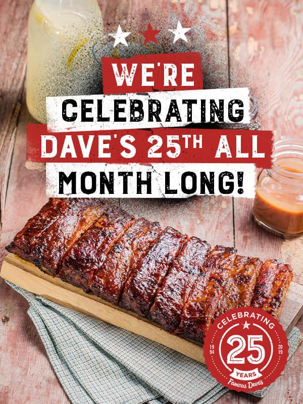 Dave's 25th Anniversary