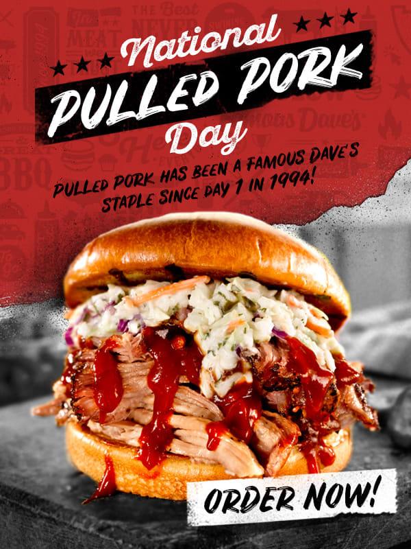 Ntl pulled pork day