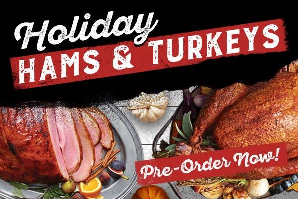 Turkeys & Hams