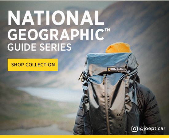 NAT GEO GUIDE SERIES SHOP COLLECTION
