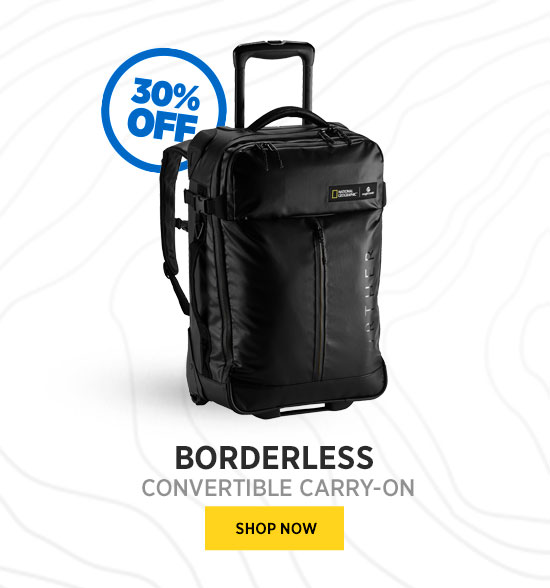 BORDERLESS CONVERTIBLE CARRY ON SHOP NOW
