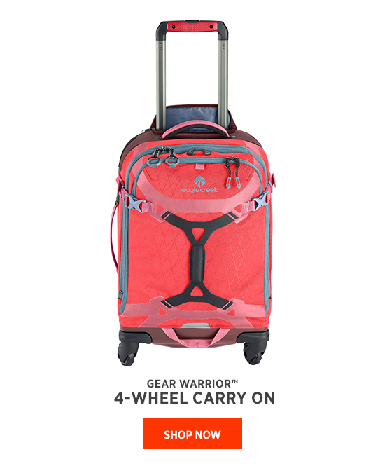 Gear Warrior 4-wheel Carry On Shop Now