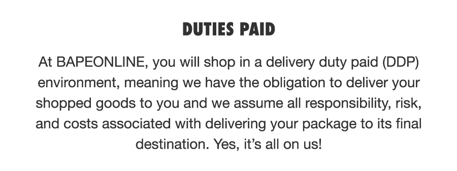 DUTIES PAID