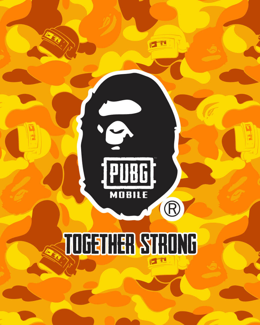A BATHING APE® x PUBG MOBILE