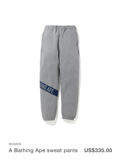 A Bathing Ape sweat pants