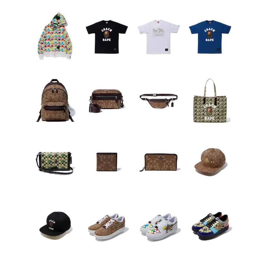 A BATHING APE® × COACH JUST DROPPED