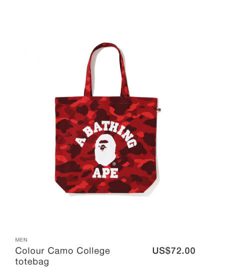 Colour Camo College totebag