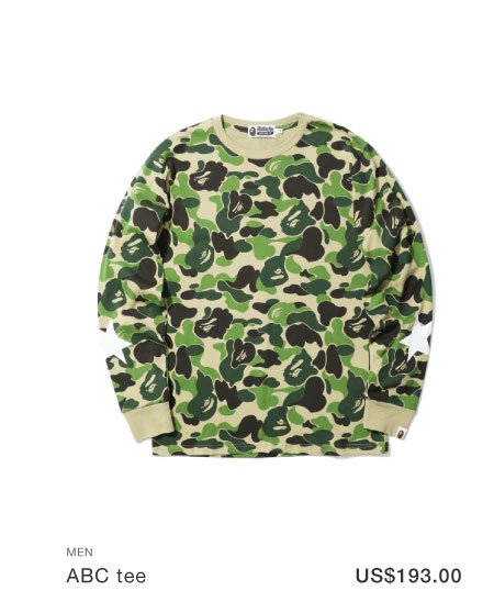 A BATHING APE® ABC tee
