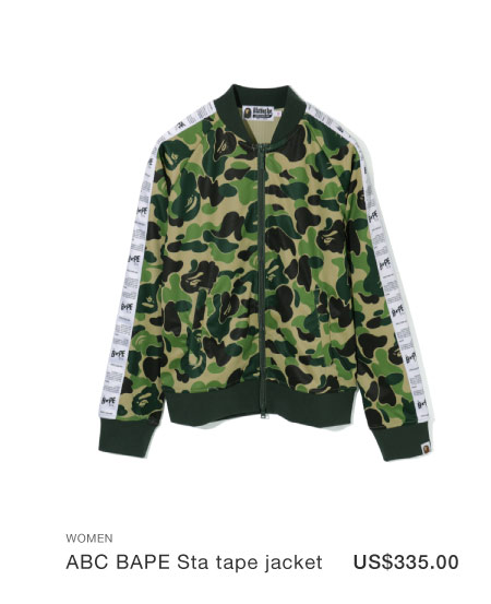 A BATHING APE® ABC BAPE Sta tape jacket