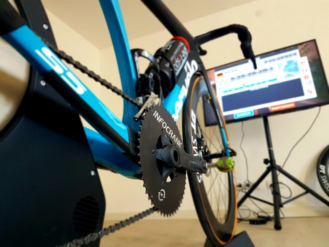 Using your power meter to ride on Zwift