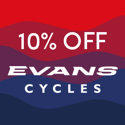 10% off Evans Cycles