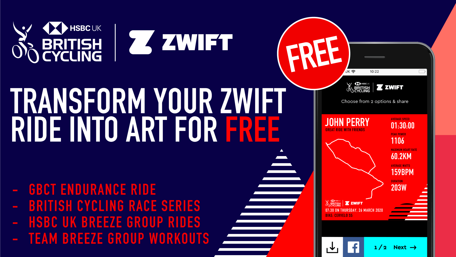 Zwift - map your ride with Darta