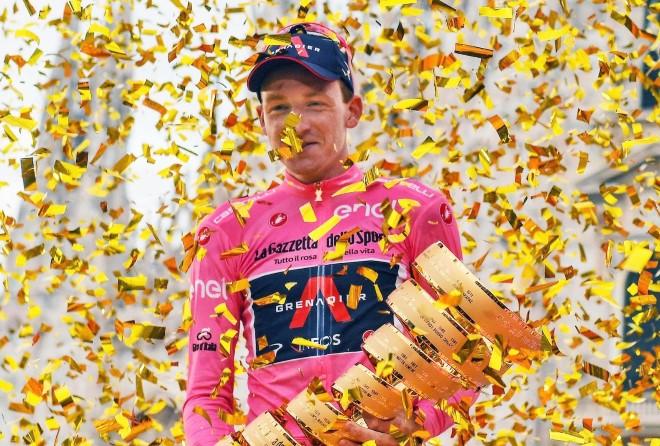 Giro glory for Geoghegan Hart