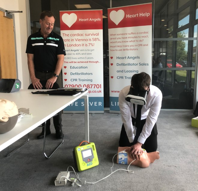 Would you know what to do if someone suffered a cardiac arrest?