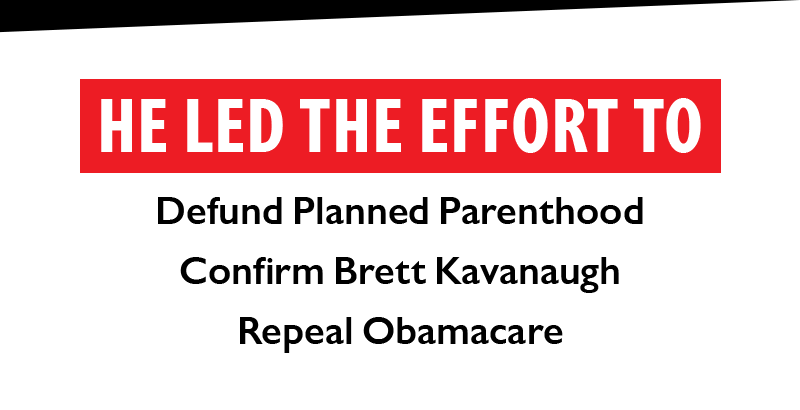 He led the effort to: