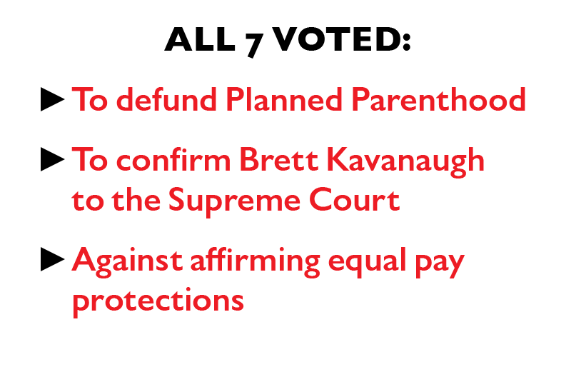 All seven voted: