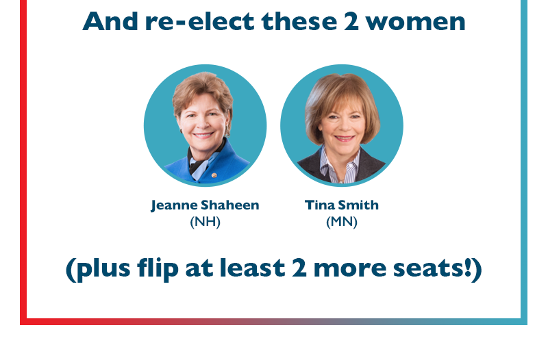 And re-elect these two women: