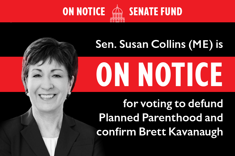 ON NOTICE SENATE FUND