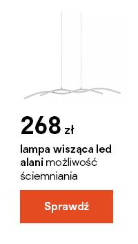 Lampa wiszaca LED GoodHome Alani 2-punktowa chrom