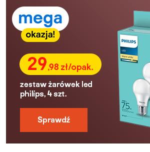 Zar?wka LED Philips A60 E27 1055 lm mleczna barwa ciepla 4 szt.