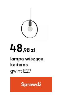 lampa wiszaca kaitains gwint E27