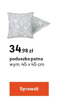 poduszka patna wym. 45 x 45 cm