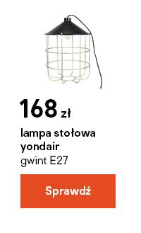 lampa stolowa yondair gwint E27