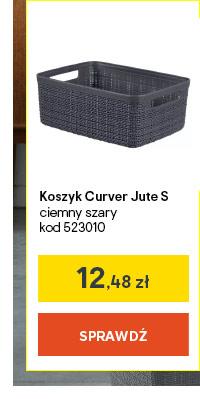 Koszyk Curver Jute S ciemny szary kod 523010