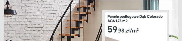 Panele podlogowe Dab Colorado AC6 1,73 m2
