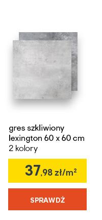 gres szkliwiony lexington 60 x 60 cm 2 kolory
