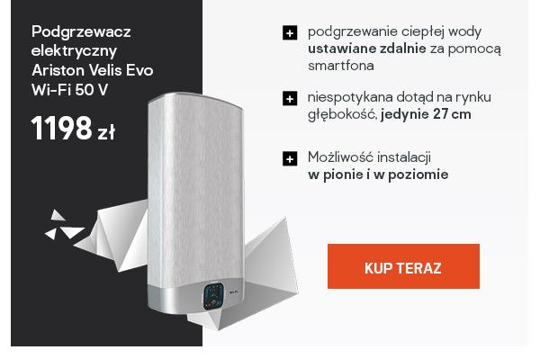 Podgrzewacz elektryczny Ariston Velis Evo Wi-Fi 50 V