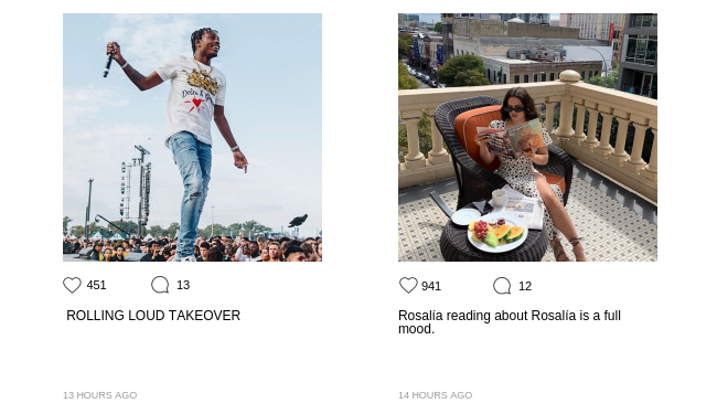 Display images to show real-time content