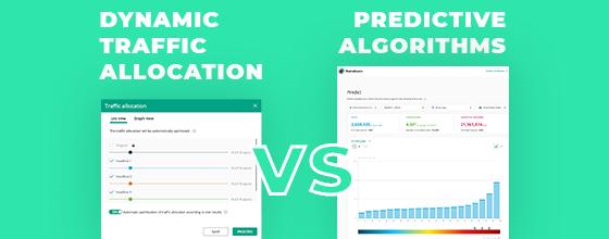 Dynamic Traffic Allocation vs Predictive Algorithms