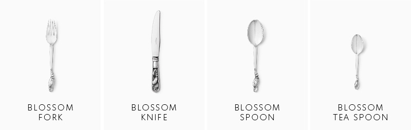Blossom cutlery