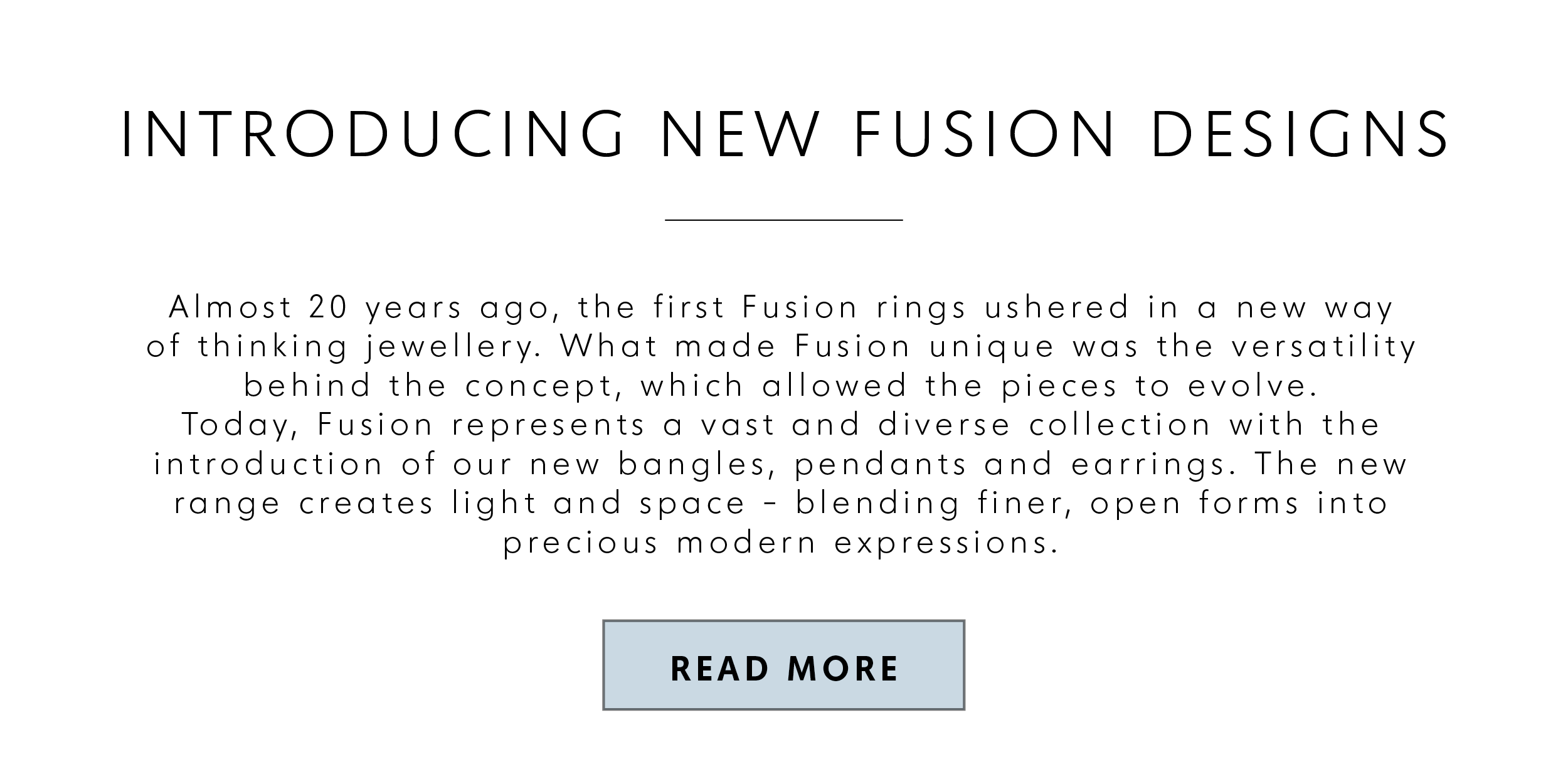 Introducing new Fusion designs