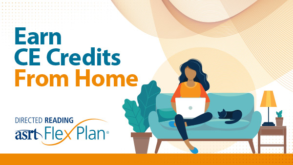 Earn CE credits  from home.