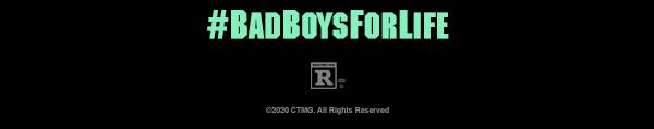 Bad Boys for Life Hashtag