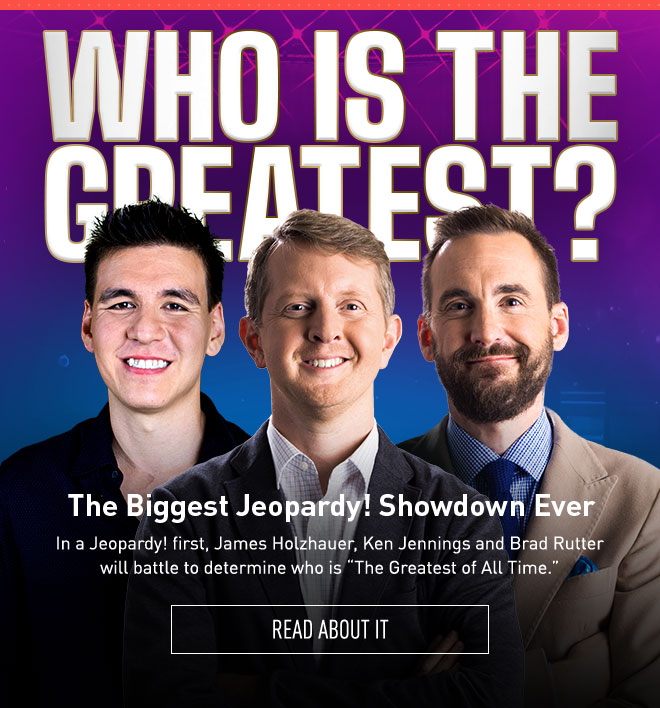 """The Biggest Jeopardy! Showdown Ever 