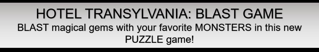 Hotel Transylvania: Blast Game