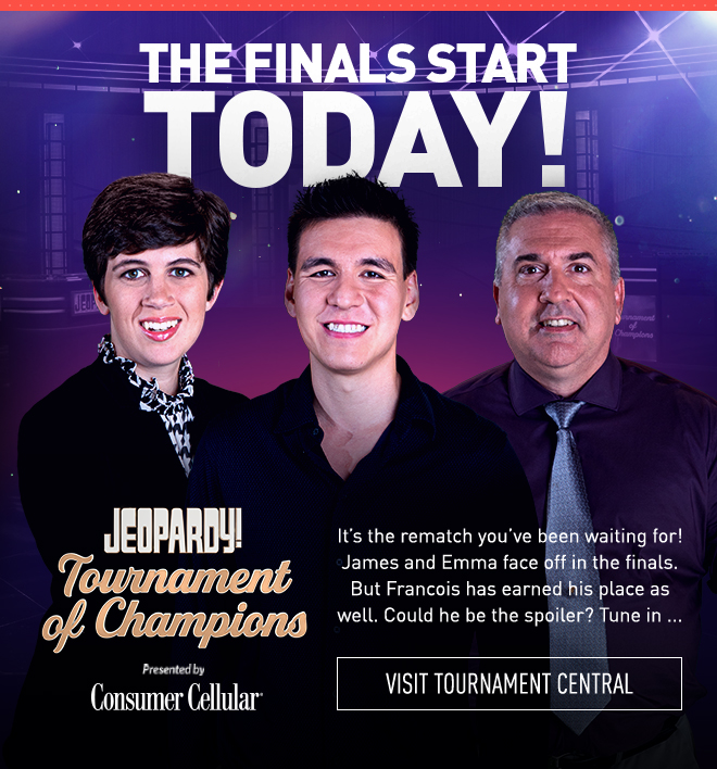 THE FINALS START TODAY! | It's the rematch you've been waiting for! James and Emma face off in the finals. But Francois has earned his place as well. Could he be the spoiler? Tune in ...