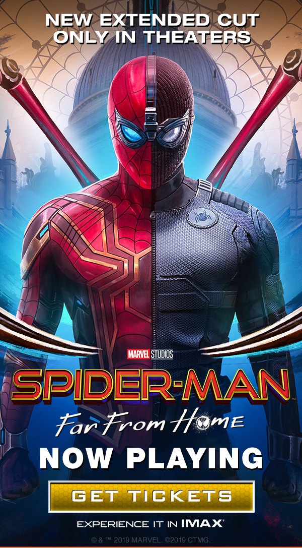 Spider-man Far From Home Ticketing