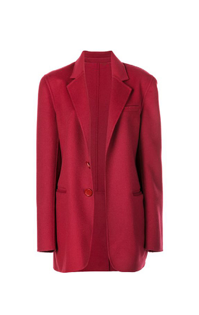 Double-Face Wool-Cashmere Jacket