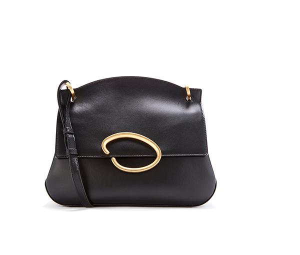Black Leather Remedy Bag