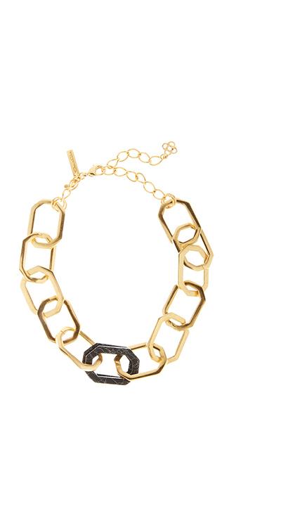 Octagon Link Necklace