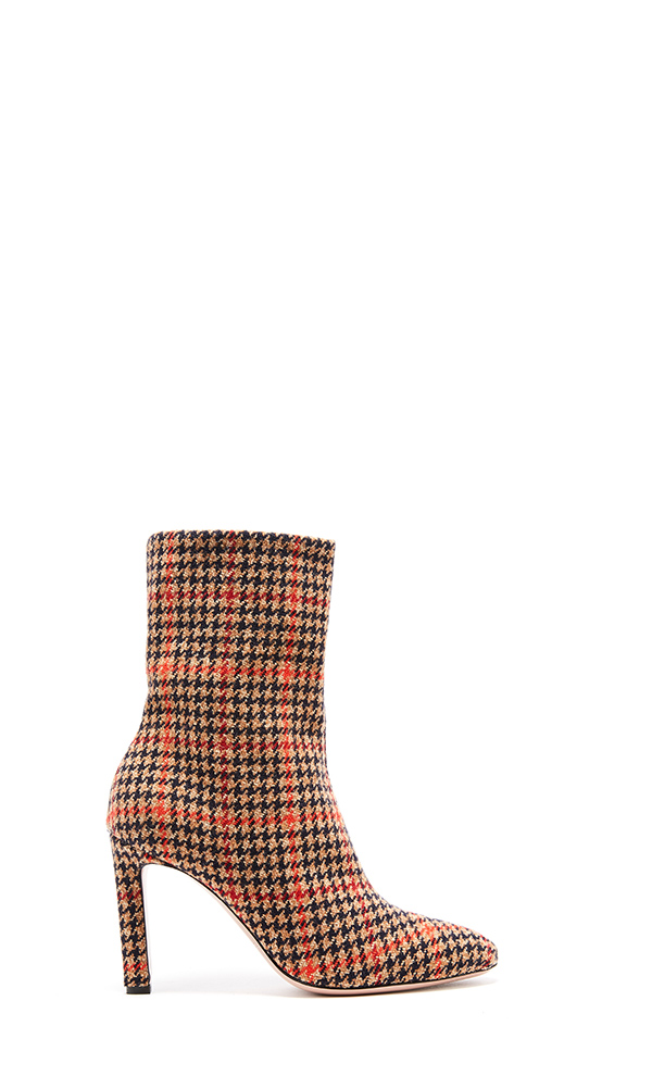Glenplaid Wool Rugby Ankle Boot