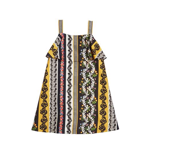 Vintage Patchwork Cotton Dress
